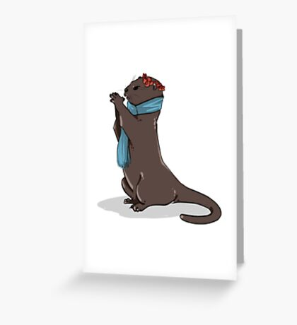 Otterlock Greeting Card