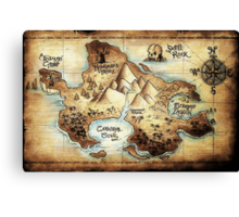 Neverland Canvas Print