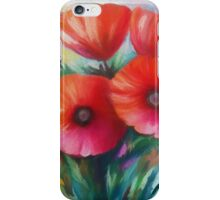 Expressionist Poppies iPhone Case/Skin