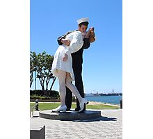 The Kiss statue Photographic Print