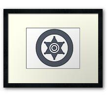 RimWorld - Sheriff Logo Framed Print