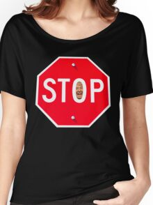 STOP TRUMP Women's Relaxed Fit T-Shirt
