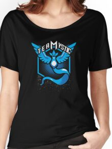 Pokemon Go | Team Mystic Design| Black Background | New! | High Quality! Women's Relaxed Fit T-Shirt