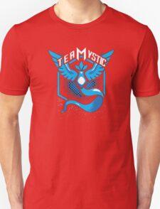 Pokemon Go   Team Mystic Design  Black Background   New!   High Quality! Unisex T-Shirt