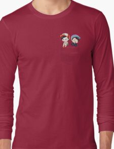 Dan and Phil Pokemon GO Pocket Shirt Long Sleeve T-Shirt