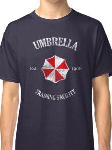 Umbrella Training Facility Vintage Resident Evil (for dark colors) Classic T-Shirt