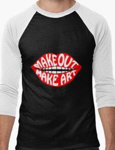 MAKE OUT & MAKE ART Men's Baseball ¾ T-Shirt
