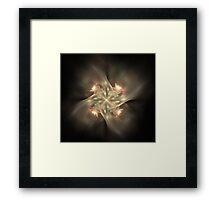 Ethereal Pinwheel Framed Print