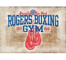 Rogers Boxing Gym Photographic Print