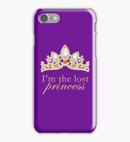 The Lost Princess (Purple) iPhone Case/Skin