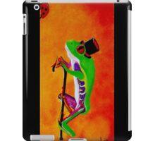 Gentleman Frog iPad Case/Skin