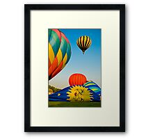 The Sun Can't Rise Framed Print