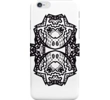 """""""Beyond Picasso; Ode to Peter Newell"""" by leading Upside-Down artist from the Topsy Turvy Art, Ambigram Art, or Masg Art movement iPhone Case/Skin"""