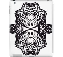 Beyond Picasso II; Ode to Peter Newell - by Upside-Down Artist L. R. Emerson II iPad Case/Skin
