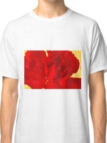 Red Carnation Macro Classic T-Shirt