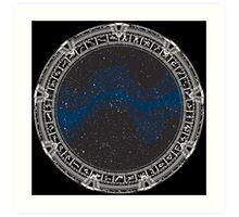 Stargate (white) Art Print