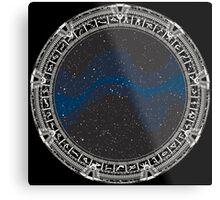 Stargate (white) Metal Print