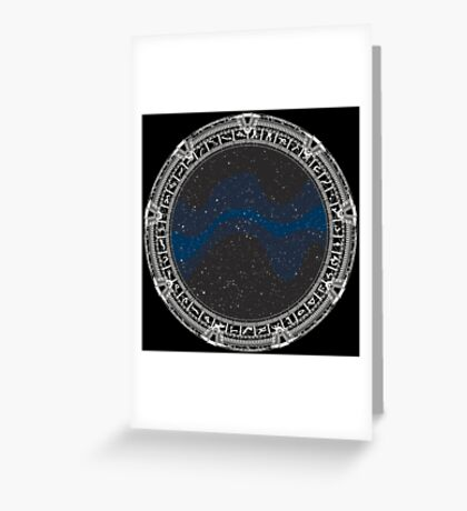 Stargate (white) Greeting Card