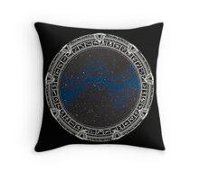 Stargate (white) Throw Pillow
