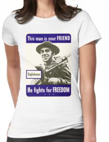 Independent Day 578 Womens Fitted T-Shirt
