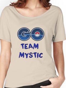 GO Team Mystic - Pokemon Go Women's Relaxed Fit T-Shirt