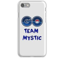 GO Team Mystic - Pokemon Go iPhone Case/Skin