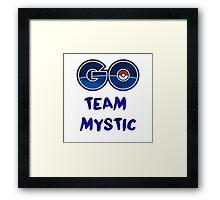 GO Team Mystic - Pokemon Go Framed Print