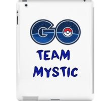 GO Team Mystic - Pokemon Go iPad Case/Skin