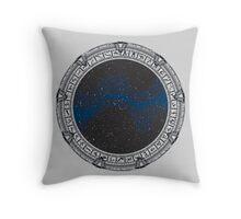 Stargate (black) Throw Pillow