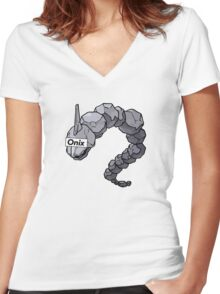 Onix Women's Fitted V-Neck T-Shirt