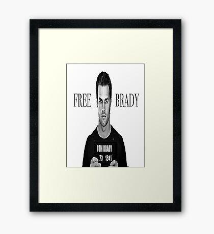 Free Brady Framed Print