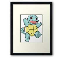 Squirtle - Pokemon Framed Print