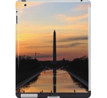 Sunrise from the Lincoln Memorial in DC iPad Case/Skin