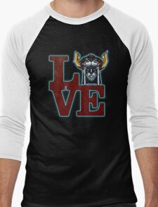 Love Voltron Men's Baseball ¾ T-Shirt