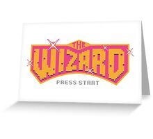 The Wizard - Logo Greeting Card