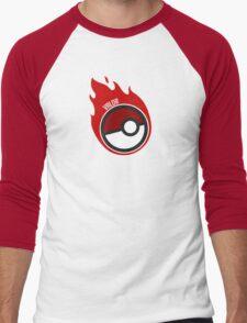 Poke Ball Team Valor GOgear!  Men's Baseball ¾ T-Shirt
