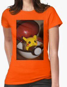 Pikachu Go! Womens Fitted T-Shirt