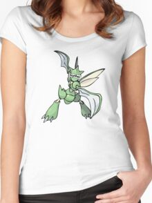Scyther Women's Fitted Scoop T-Shirt