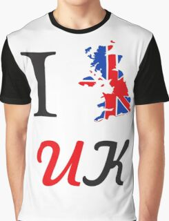 I Love England Graphic T-Shirt