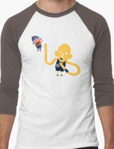 Reggie Miller Chokes Spike Lee Men's Baseball ¾ T-Shirt