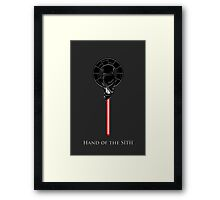 Hand of the Sith Framed Print