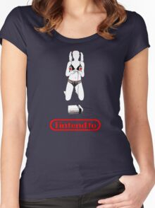 Come play with me Women's Fitted Scoop T-Shirt