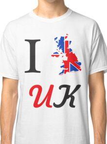 I Love England Classic T-Shirt