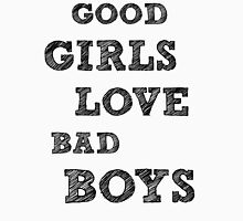 Good girls love bad boys Womens Fitted T-Shirt
