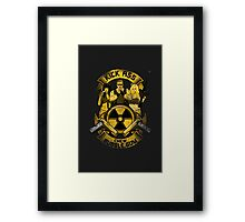 Kick Ass and Chew Bubble Gum! Framed Print