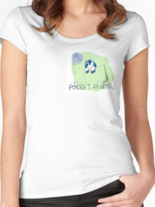 Pocket Armour Women's Fitted Scoop T-Shirt
