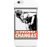 Deadpool Chimichangas Obey Design iPhone Case/Skin