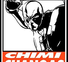 Deadpool Chimichangas Obey Design by SquallAndSeifer