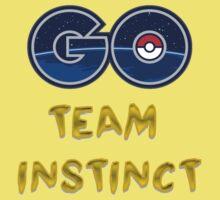 GO Team Instinct - Pokemon Go Kids Tee