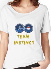 GO Team Instinct - Pokemon Go Women's Relaxed Fit T-Shirt